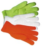 Gloves For Professionals 176 White Knit Traffic Gloves