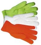 Gloves For Professionals 576 Orange Knit Traffic Gloves
