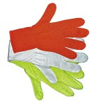 Gloves For Professionals 976 Orange Unlined Stretch Knit