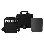 GH Armor Systems  GH-ASK-1-CB GH-ASK-1-CB Active Shooter Kit | MOLLE Plate Harness¸ One 10x12' Level IV Plates¸ Carry Bag