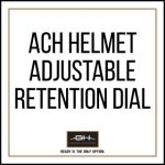 GH Armor Systems  GH-HB1-A-RET1 GH-HB1-A-RET1 Adjustable Retention Dial for ACH Helmet