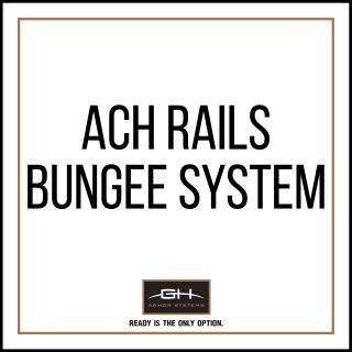 GH Armor Systems  GH-HB1-ACH-BNG GH-HB1-ACH-BNG Bungee System for ACH Rails