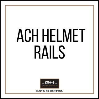 GH Armor Systems  GH-HB1-ACH-RAIL1 GH-HB1-ACH-RAIL1 Rails for ACH Helmet (MD/LG Only)