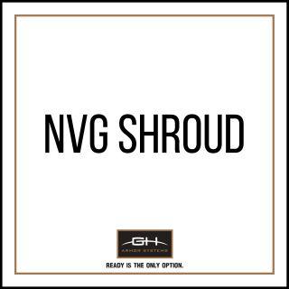 GH Armor Systems  GH-HB1-ACH-SH1 GH-HB1-ACH-SH1 NVG Shroud for ACH Helmet