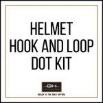 GH Armor Systems  GH-HB1-ACH-VEL1 GH-HB1-ACH-VEL1 Helmet Velcro Dot Kit