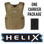 GH Armor Systems  GH-HELIX-IIIA-M-1 GH-HELIX-IIIA-M-1 HeliX IIIA HX02 Packae (Male)
