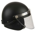 GH Armor Systems  GH-HR1-TAC1 GH-HR1-TAC1 Riot Helmet - Tactical Style¸ Faceshield¸ Neck Protector