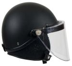GH Armor Systems  GH-HR1-TAC2 GH-HR1-TAC2 Riot Helmet - Tactical Style¸ Faceshield¸ Beak Seal¸ Neck Protector