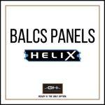 GH Armor Systems  GH-HX3A-BALCS-MD GH-HX3A-BALCS-MD BALCS Ballistic Panels, Medium - HeliX IIIA