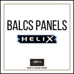 GH Armor Systems  GH-HX3A-BALCS-SM GH-HX3A-BALCS-SM BALCS Ballistic Panels, Small - HeliX IIIA