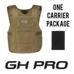 GH Armor Systems  GH-PRO-IIIA-M-1 GH-PRO-IIIA-M-1 Pro IIIA Package (Male)