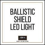GH Armor Systems  GH-SHB1-LED1 GH-SHB1-LED1 LED Light for Ballistic Shield - Includes Battery and Charger