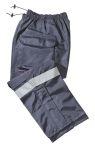Gerber Outerwear 40L1, 911 Pant NFPA 1999 Cargo Pkt, Zipper, (Silver Trim)