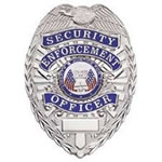 Traditional Security Enforcement Officer Badge