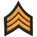 Chevrons and Service Stripes