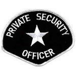 PRIVATE SECURITY OFFICER 4-3/4 x 3-3/4
