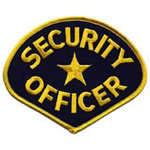 SECURITY OFFICER 4-3/4 x 3-3/4