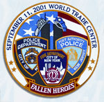FALLEN HEROES - 12 Circle Tribute Patch