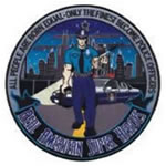 Police Officer AMERICAN SUPERHERO - 12 Circle