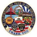 PRIDE OF CALIFORNIA- 12 Circle Emblem