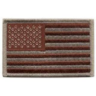 "Hero's Pride 13 U.S. Flag - Desert - No Hook - 3-3/8 X 2"""