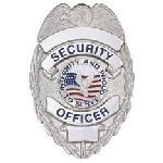 Hero's Pride 4105N SECURITY OFCR - Oval w/INTEGRITY- Traditional - Nickel