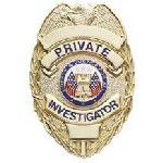 Hero's Pride 4111G PRIVATE INVESTIGATOR - Oval - Traditional - Gold