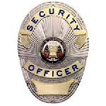 Hero's Pride 4112GonN SECURITY OFFICER (LAPD Style) - Traditional - 2Tone - Gold on Nickel