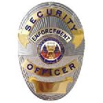 Hero's Pride 4114G SECURITY ENFORCEMENT OFFICER (LAPD Style) - Traditional - Gold