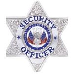 Hero's Pride 4120N SECURITY OFFICER - 6 pt Star - Traditional - Nickel