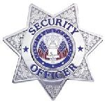Hero's Pride 4121G SECURITY OFFICER - 7 pt Star - Traditional - Gold