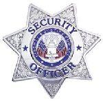 Hero's Pride 4121N SECURITY OFFICER - 7 pt Star - Traditional - Nickel