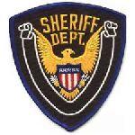 Hero's Pride 5393 SHERIFF DEPT. - 4 X 4-3/8