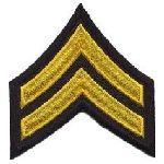 "Hero's Pride 5416C Pr - CPL - 3"" Wide - Med Gold on Midnight Navy"