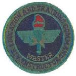 "Hero's Pride 7055 AETC Master Instructor - Subd - no Hook -3"" Circle"