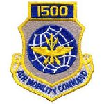 """Hero's Pride 7202 1500 AIR MOBILITY COMMAND - w/Hook - 3 x 3-1/2"""""""