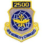 """Hero's Pride 7204 2500 AIR MOBILITY COMMAND - w/Hook - 3 x 3-1/2"""""""