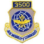 """Hero's Pride 7206 3500 AIR MOBILITY COMMAND - w/Hook - 3 x 3-1/2"""""""