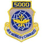 """Hero's Pride 7208 5000 AIR MOBILITY COMMAND - w/Hook - 3 x 3-1/2"""""""