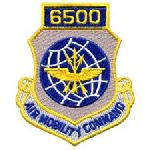 """Hero's Pride 7210 6500 AIR MOBILITY COMMAND - w/Hook - 3 x 3-1/2"""""""