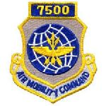 """Hero's Pride 7212 7500 AIR MOBILITY COMMAND - w/Hook - 3 x 3-1/2"""""""