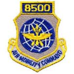 """Hero's Pride 7214 8500 AIR MOBILITY COMMAND - w/Hook - 3 x 3-1/2"""""""