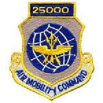 Hero's Pride 7220 25,000 AIR MOBILITY COMMAND - w/Hook - 3 x 3-1/2