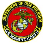 "Hero's Pride 8241 8241-Defenders Of Our Freedom - Marine Corps - 12""Circle"