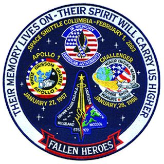 "Hero's Pride 8441 Fallen Heroes Space Program - 12""Circle"