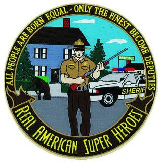 "Hero's Pride 8496 Sheriff: American Super Heroes - 5""Circle"
