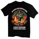 Hero's Pride 8852 Firefighter: American Superhero - Long Sleeve T-shirt