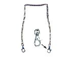 "Hero's Pride 9068 20"" Ny Style Link Chain With Clip-On Ends"