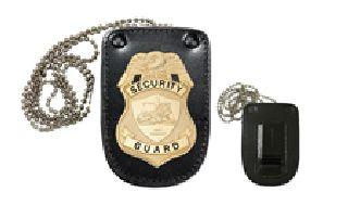 Hero's Pride 9140U Universal U-Shaped Badge Holder With Hook Fastener