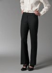 Flat Front Extended Button Pant